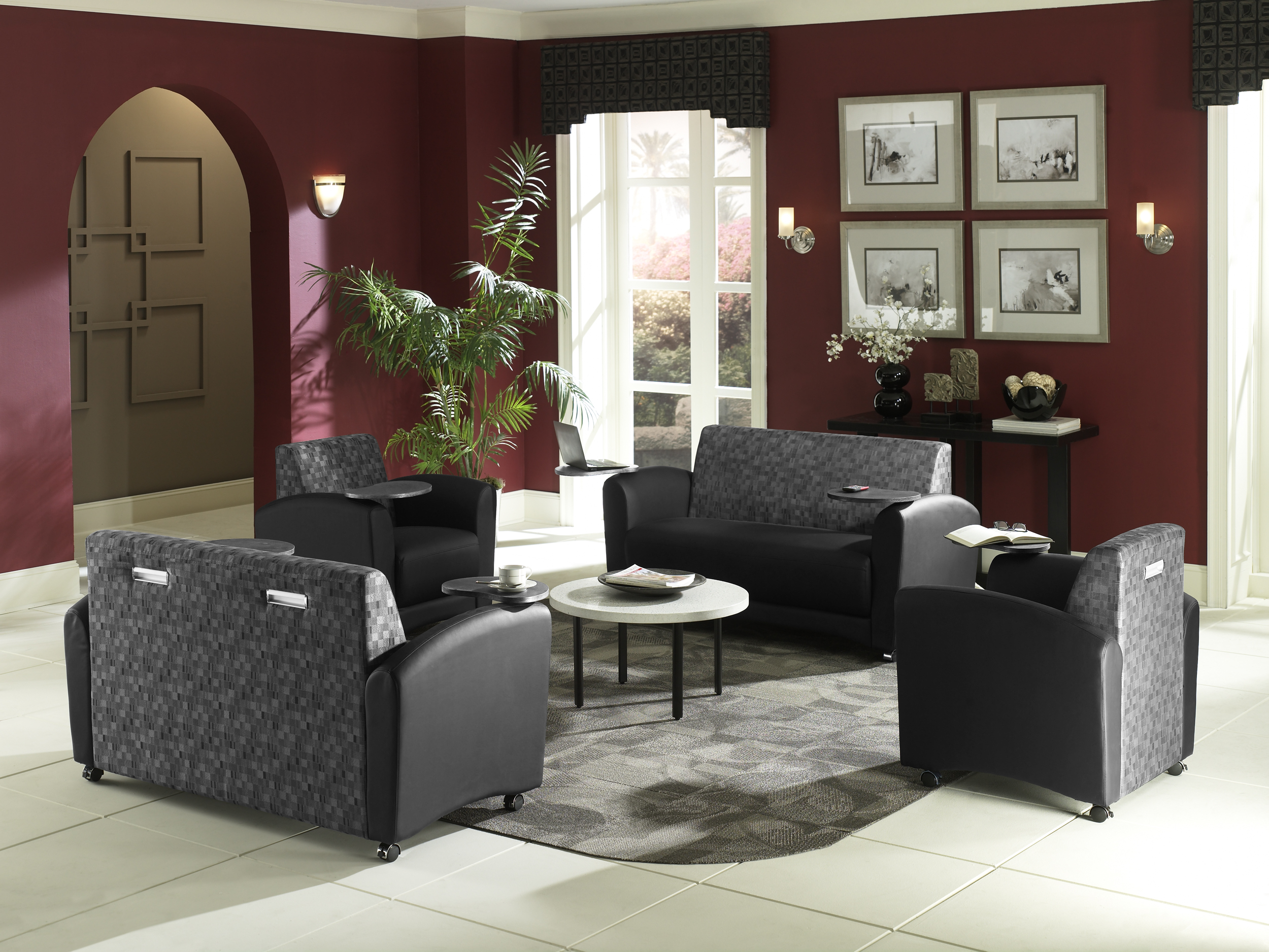 Ofm Interplay Series Tablet Sofa Nashville Office Furniture