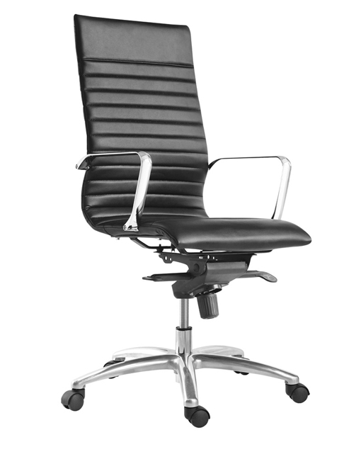 Corp Design Zetti High Back Executive Leather Chair ...