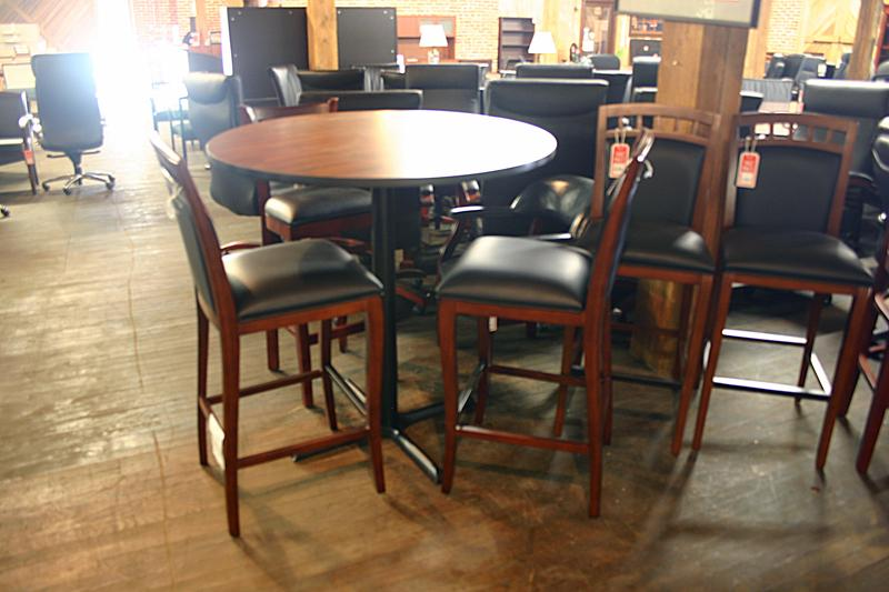 Mayline Pub Height Break Room Tables