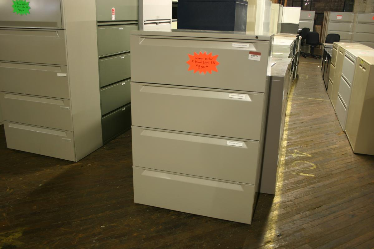 Herman Miller Lateral Files