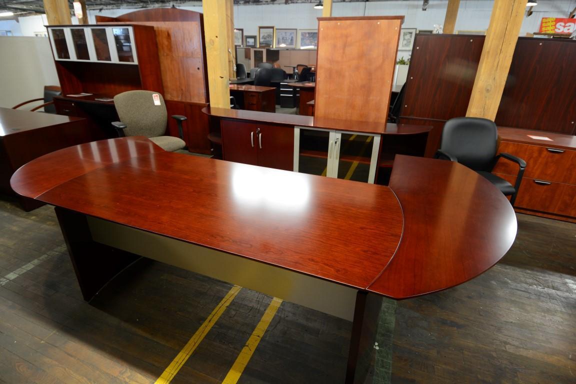 Mayline Napoli Executive Desk Set Nashville Office Furniture