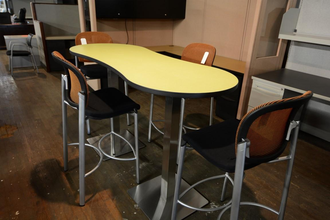 Mayline Bistro Table And Chairs Nashville Office Furniture