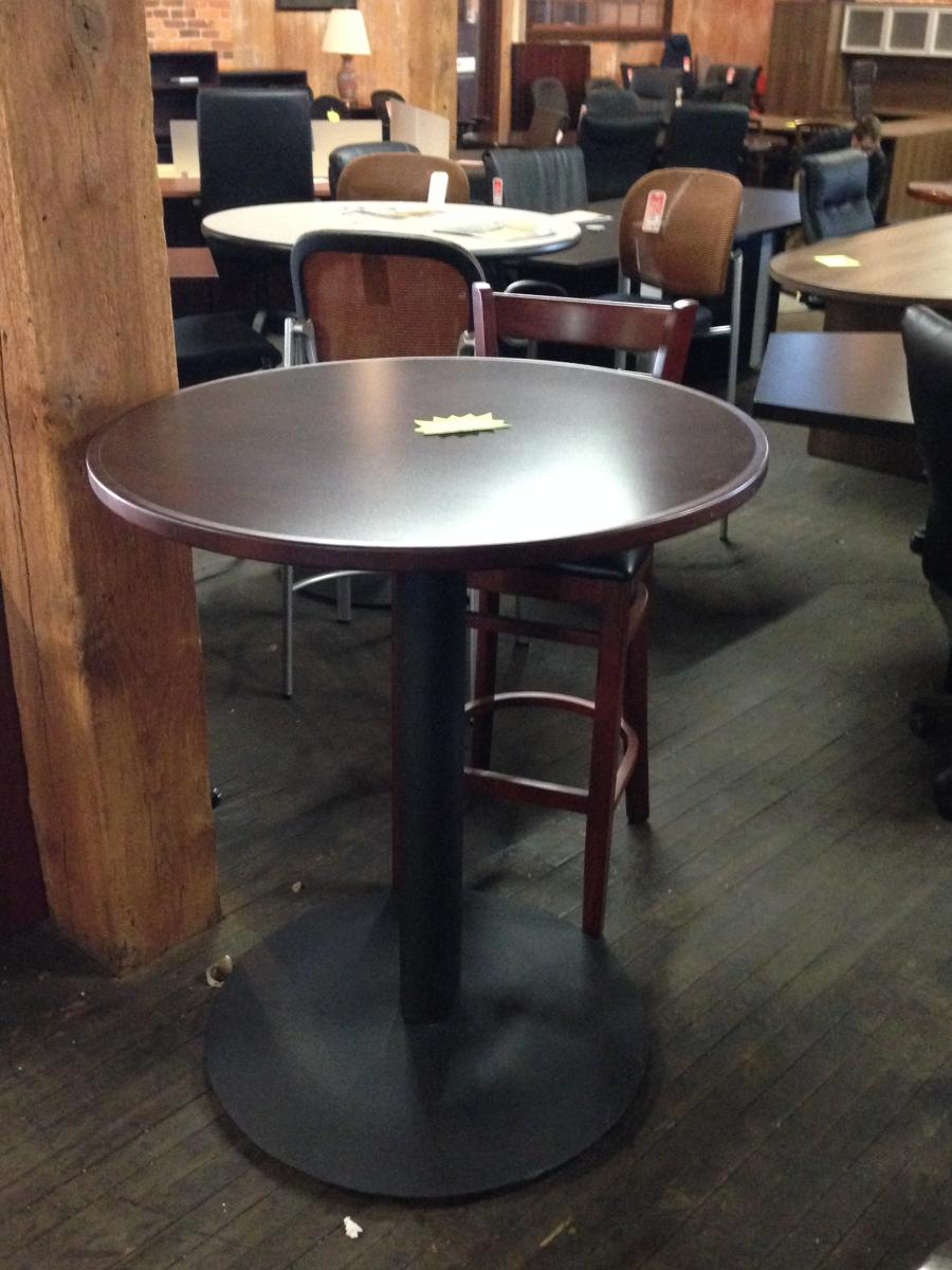 Bfw Mahogany Bistro Table Nashville Office Furniture
