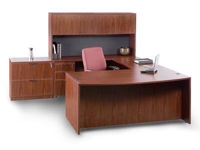 Compel Liberty Bow Front Desk