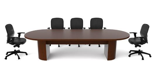 Cherryman Racetrack Jade Series Conference Table