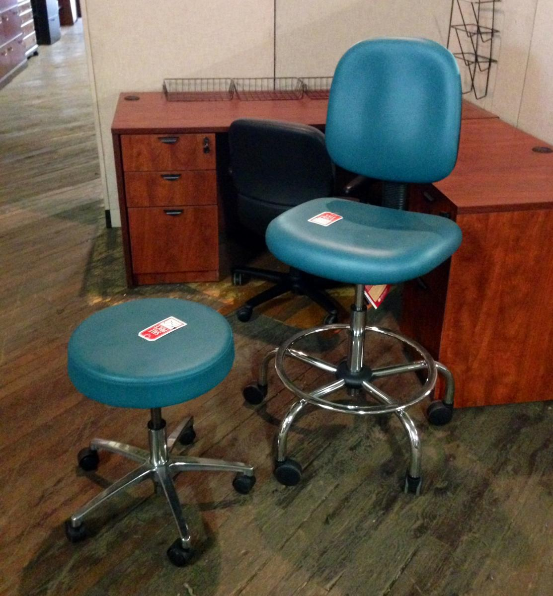 Closeout Medical Chair and Stool