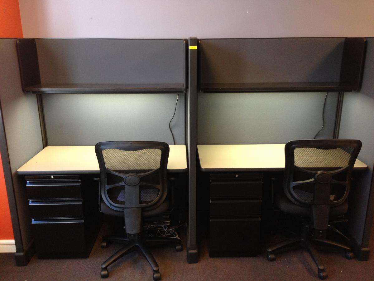 Used Herman Miller A02 Workstations Nashville Office Furniture