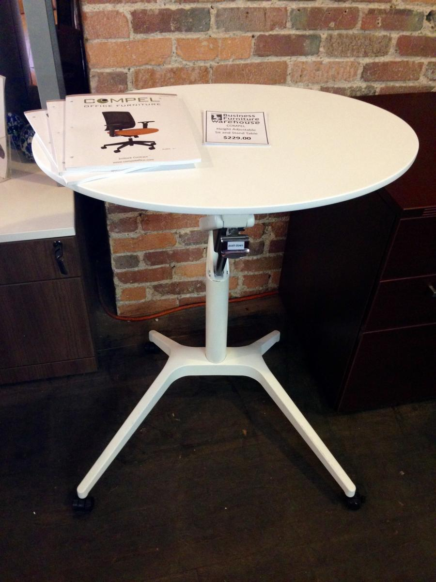 Compel Manual Height Adjustable Table