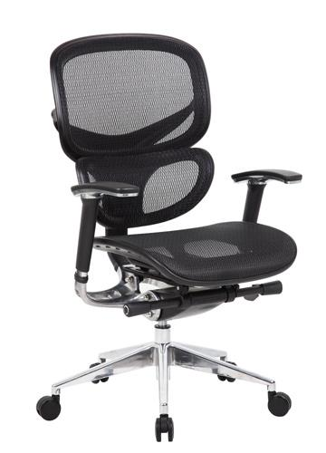 Boss B6888-BK Mesh Task Chair