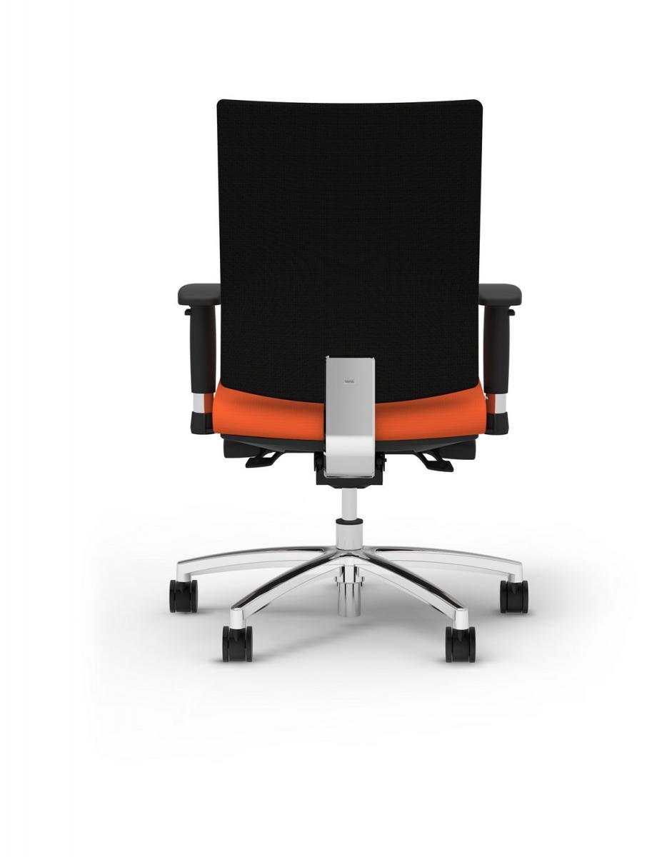Cherryman IDesk Ambarella Task Chair- Persimmon