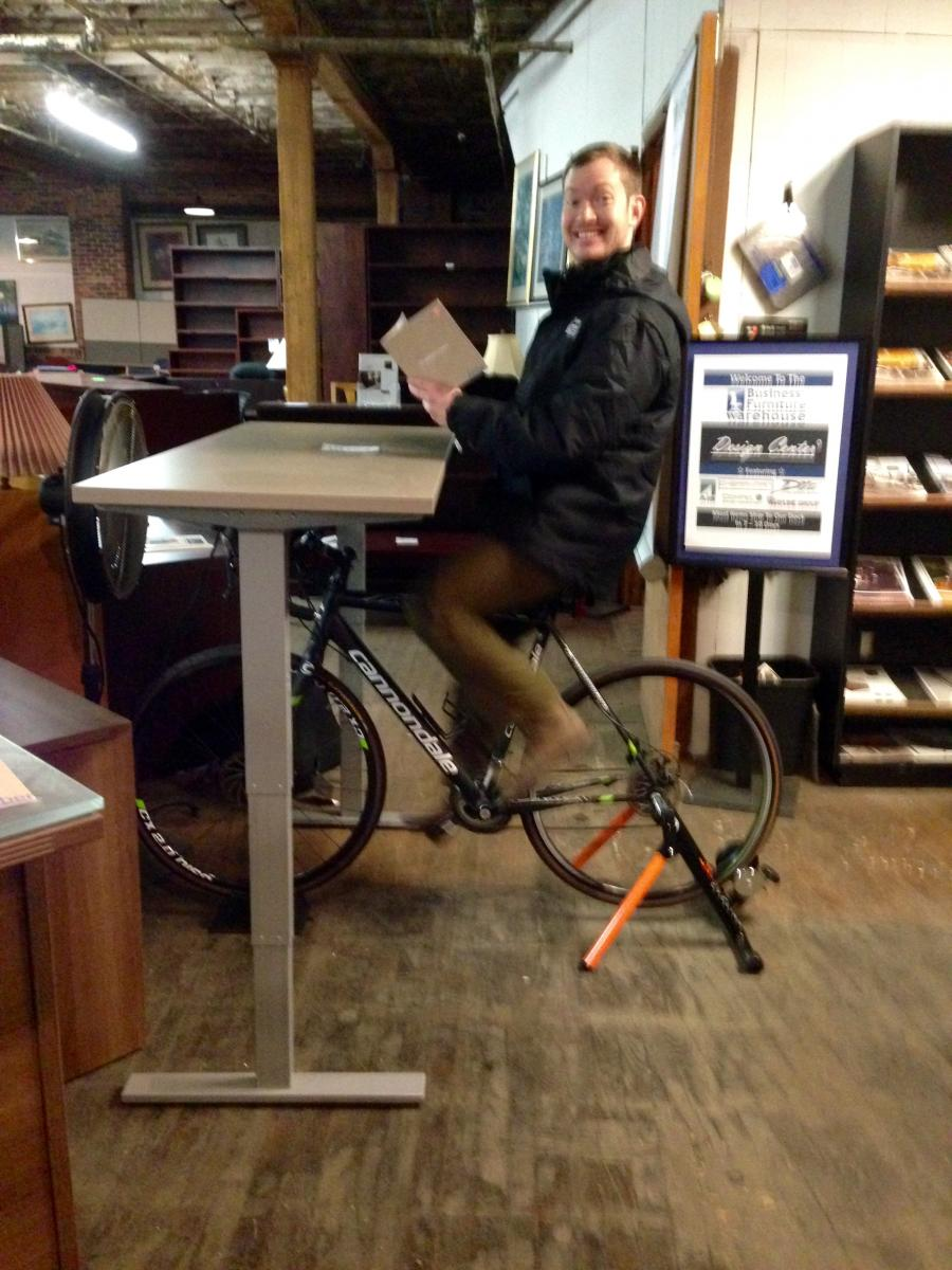 BFW Bike Desk