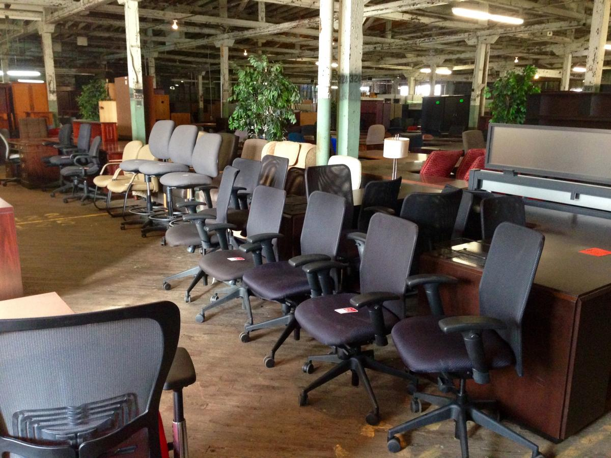 USED Allseating and HON chairs