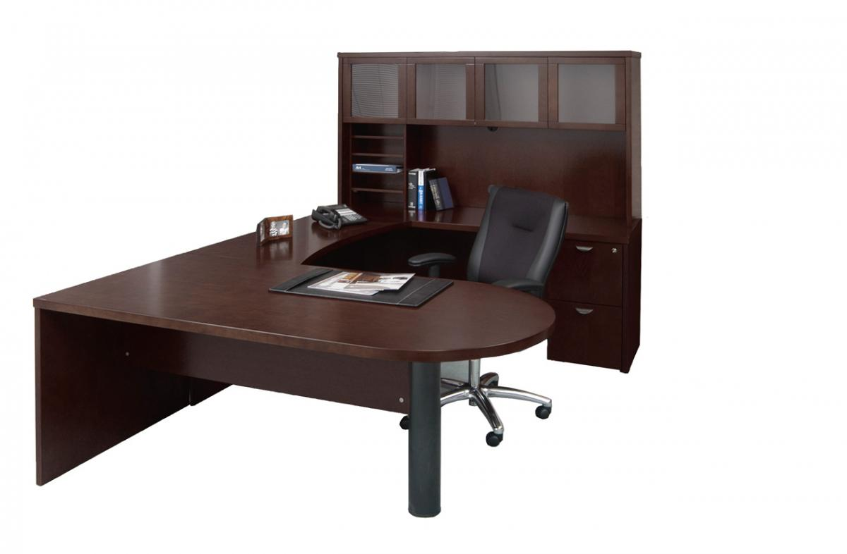 Mayline Mira U Unit Peninsula Top Nashville Office Furniture