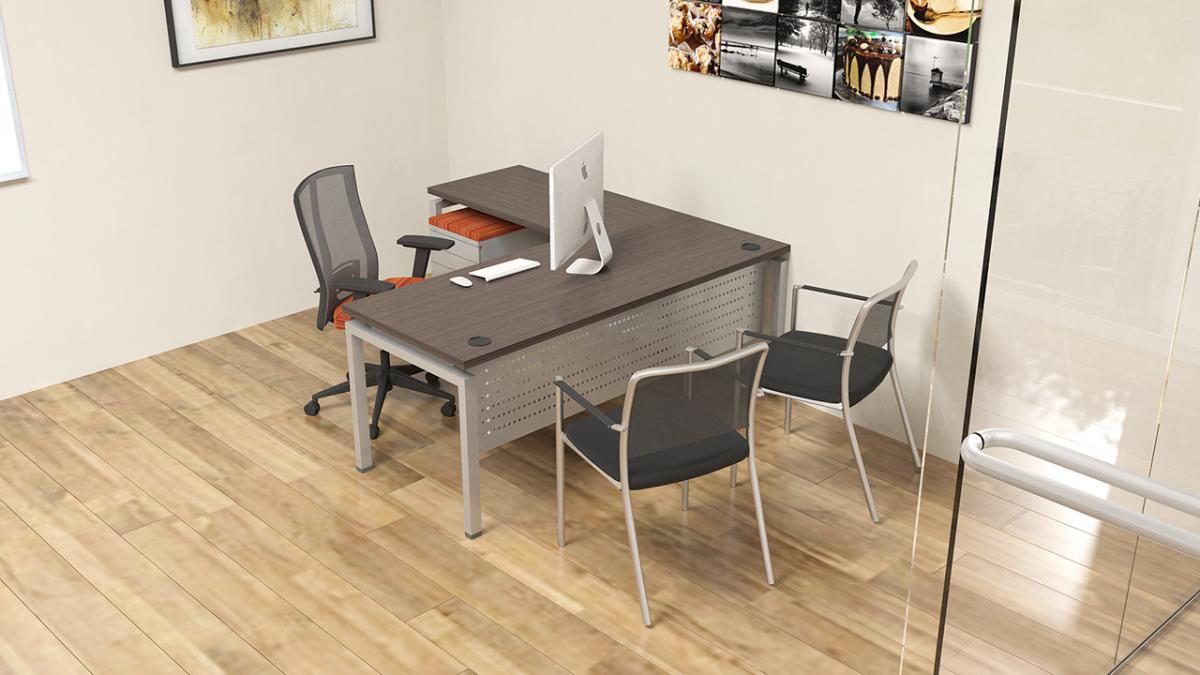 Clear Design BLADE Private Office Workstations