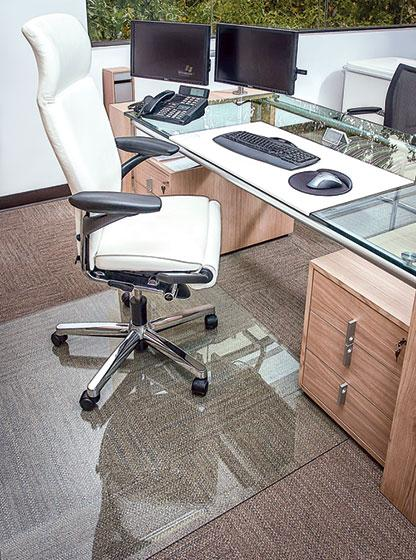 Office Source Glass Chairmats