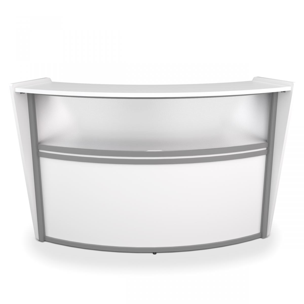 OFM Marque Plexi Single-Unit Reception Station