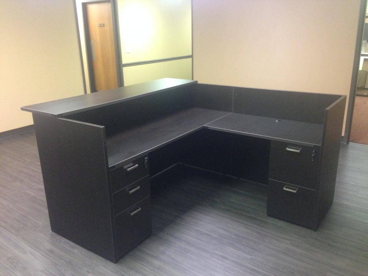 Cherryman Reception Desk with Transaction Top