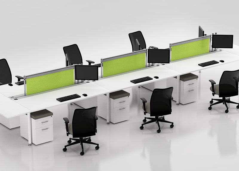 Compel Z Desk Workstations