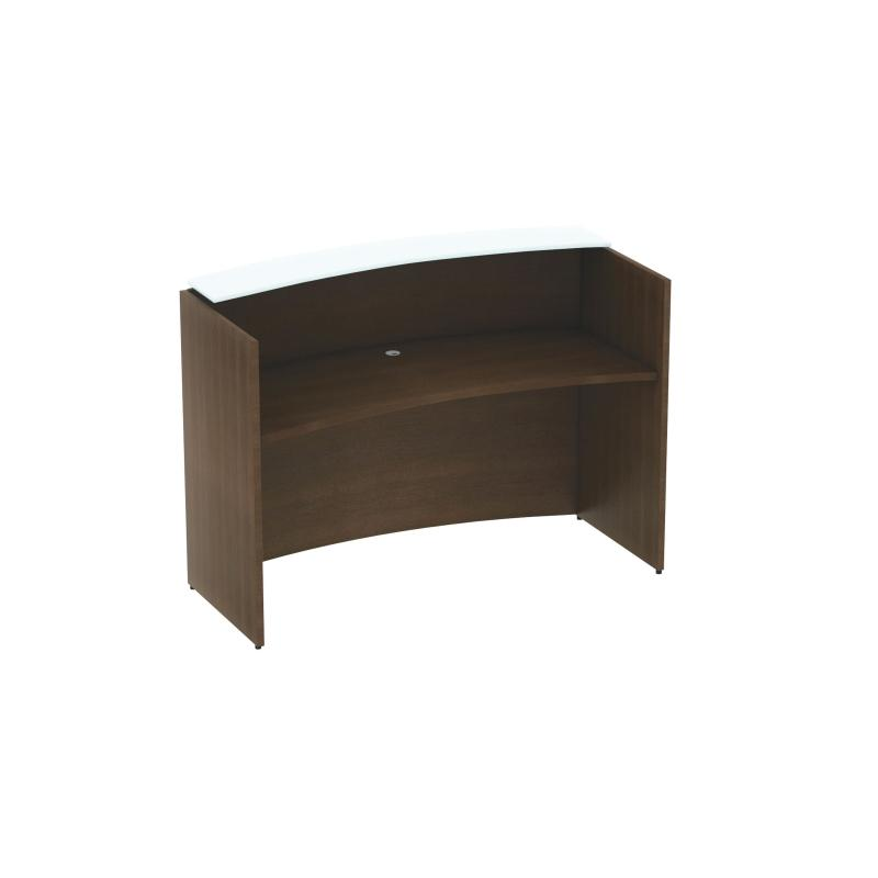 Corp Design Curved Reception Desk