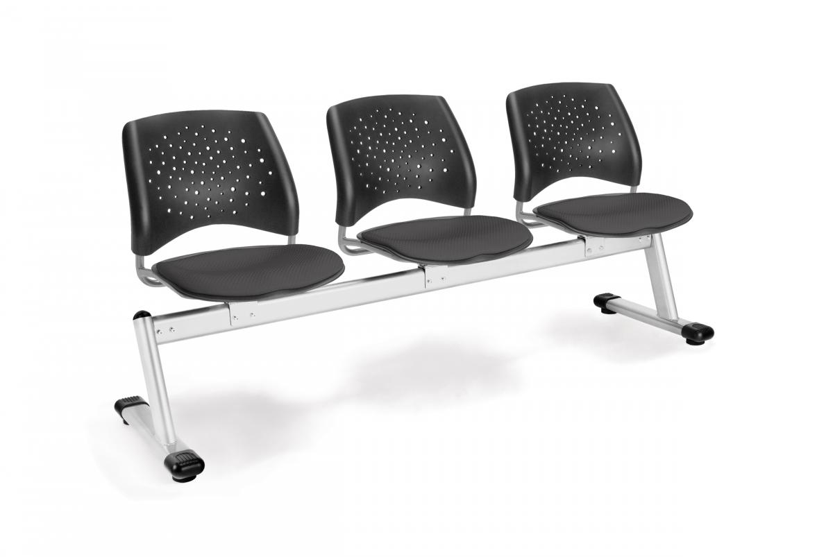OFM Stars Series 3-Unit Beam Seating