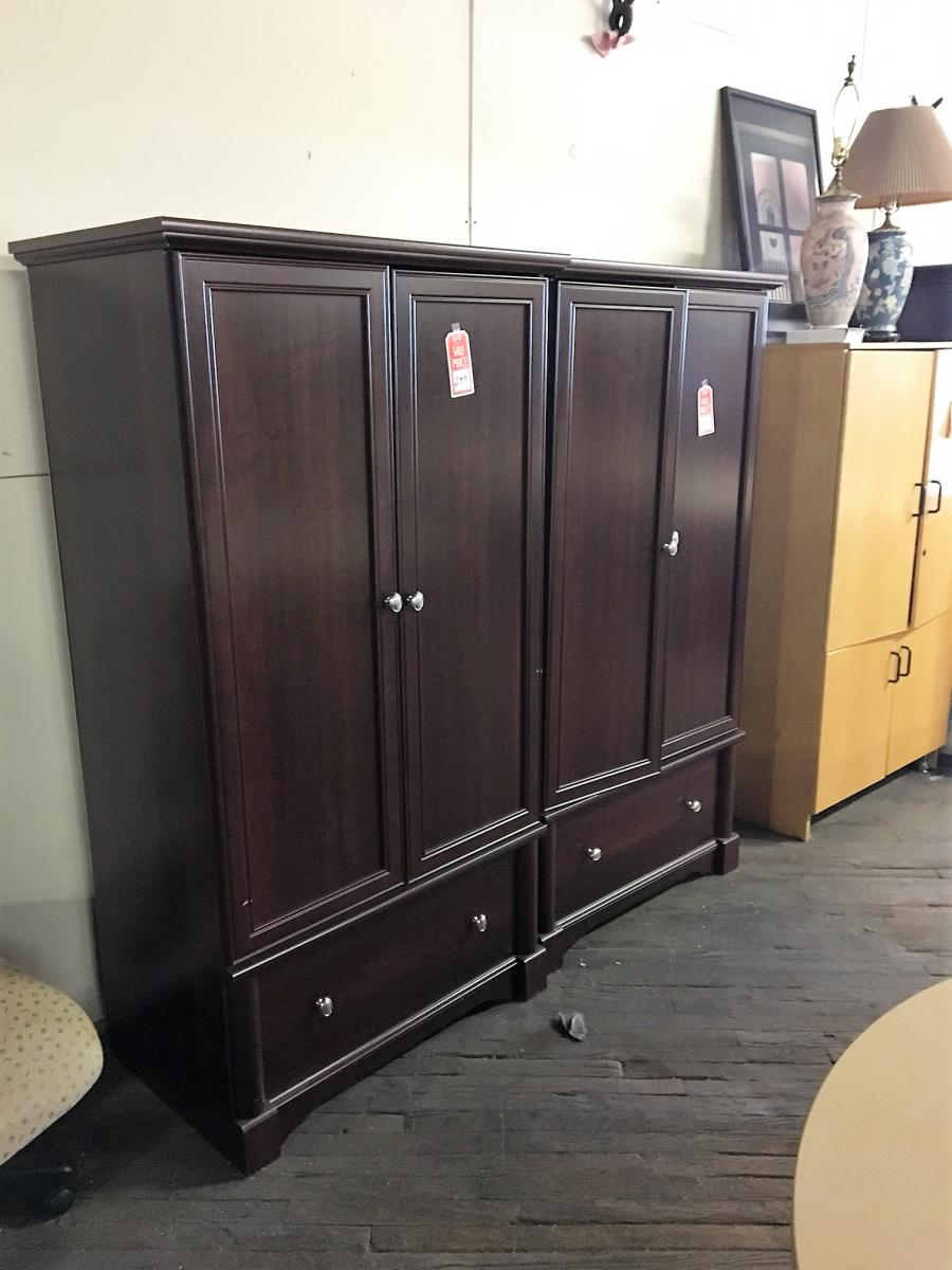 USED Mahogany Wardrobe