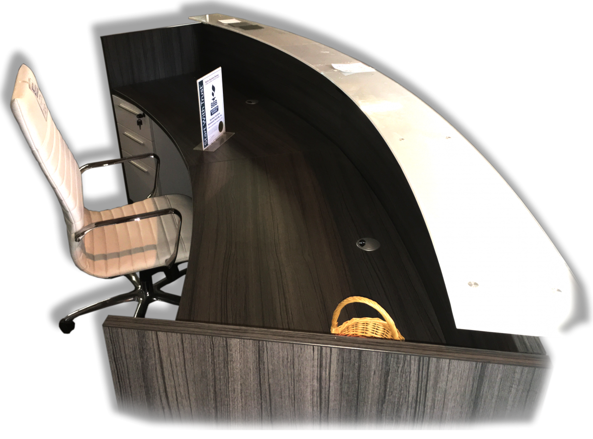 Corp Design 10' Reception Desk