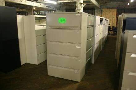 Used Lateral Files, Steelcase, Haworth & Herman Miller