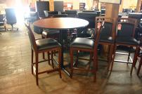 Mayline Pub Height Break Room Tables - 3734