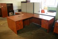Compel L Shape Desk