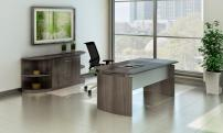Mayline Medina Desk with Credenza
