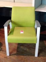 Allseating Foster Upholstered Single Guest Chair - 1916