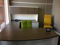 JSI Maverick Series U-Unit Desk with Hutch
