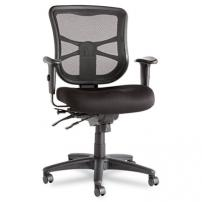 Alera Elusion Series Mesh Mid-Back Multifunction Chair - 1583
