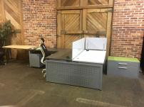 Clear Design Open Plan Workstations - 977