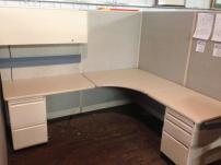 USED Haworth UniGroup 6 x 7 Workstations - 512