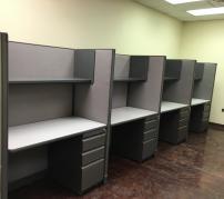 USED Haworth UniGroup Workstations - Telemarketing  - 593
