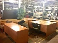 USED Maple Desks - 347