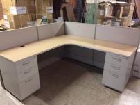USED AIS Low Wall Workstations - 444