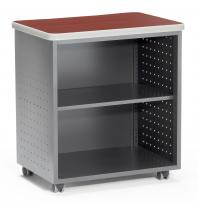 OFM 66745 Mesa Series Mobile Utility Table with Shelf - 54