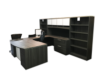 Corp Design Potenza Series Bow Front U Desk